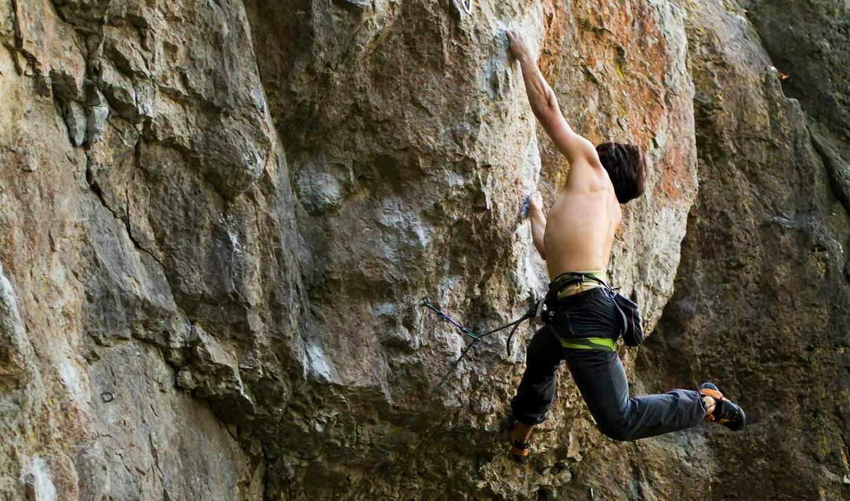 Klettern trotz Angst