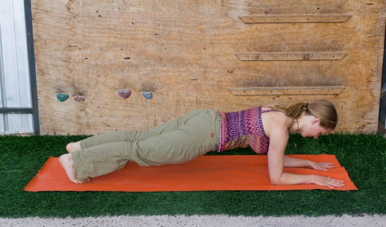 fit bleiben mit Plank