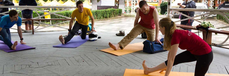 Yoga für Kletterer - Yoga Petzl RocTrip