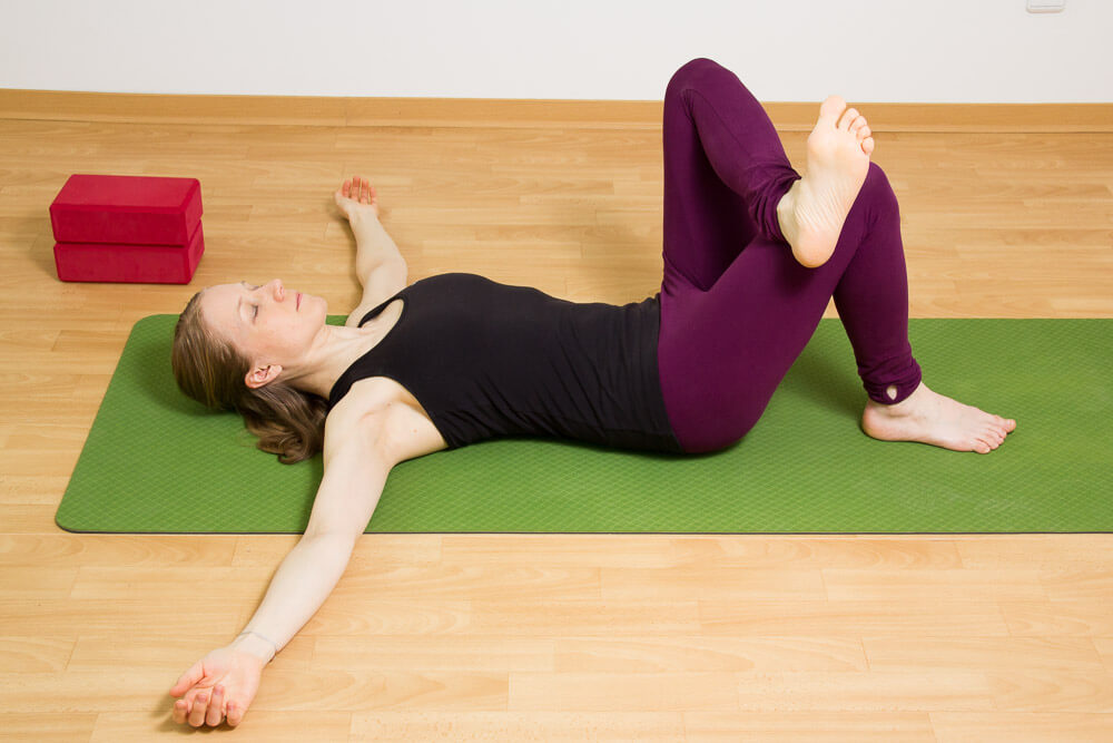 Ruhiges Yoga