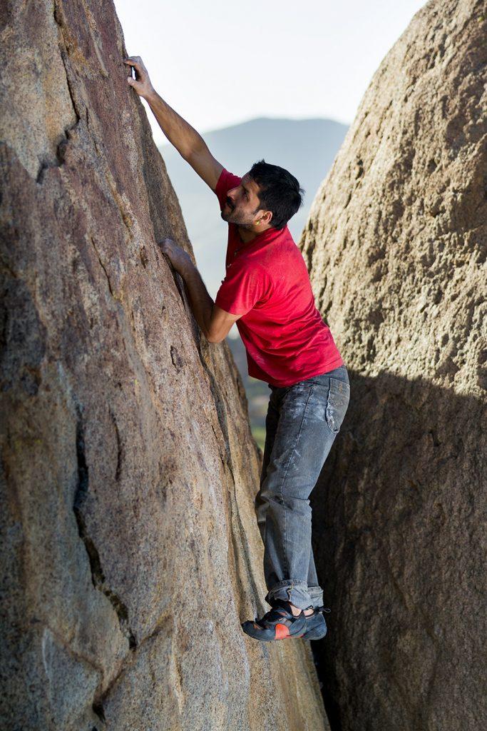 Kopftraining Bouldern in Punitaqui