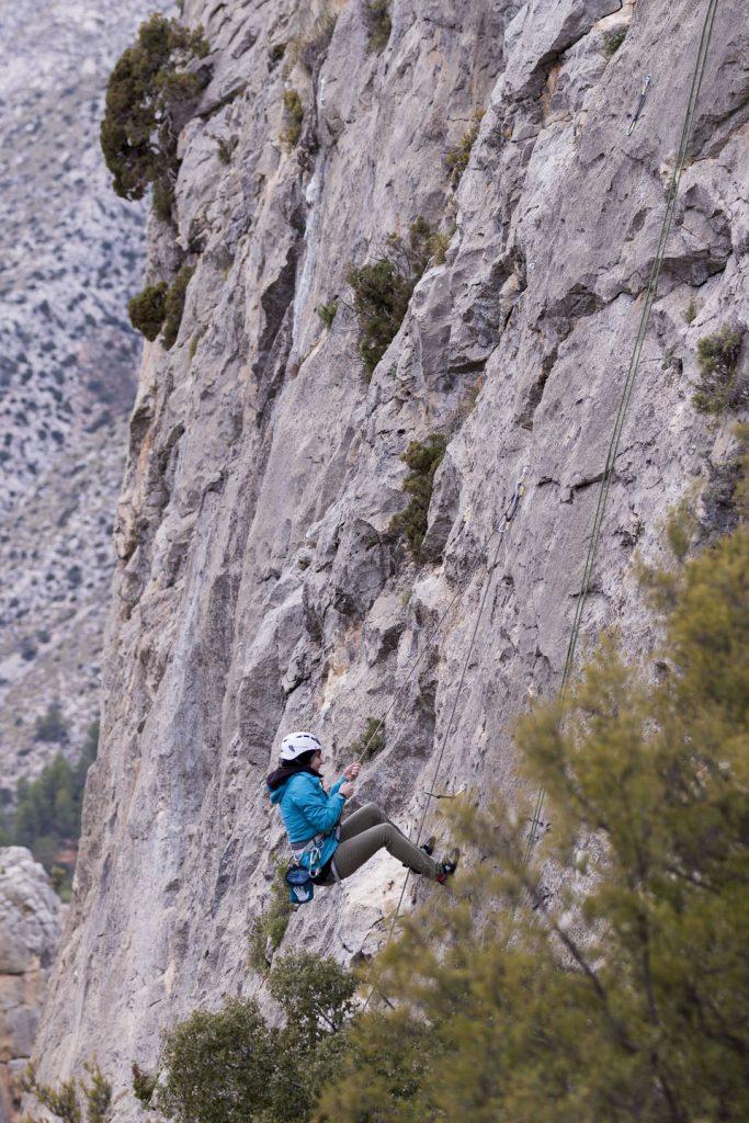 Kletter-Yoga-Retreat-Sturztraining am Fels