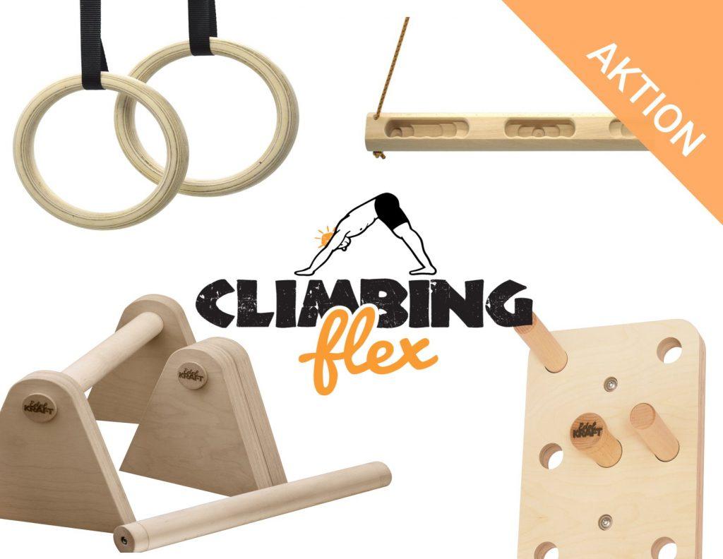 Minibarren Aktion mit ClimbingFlex