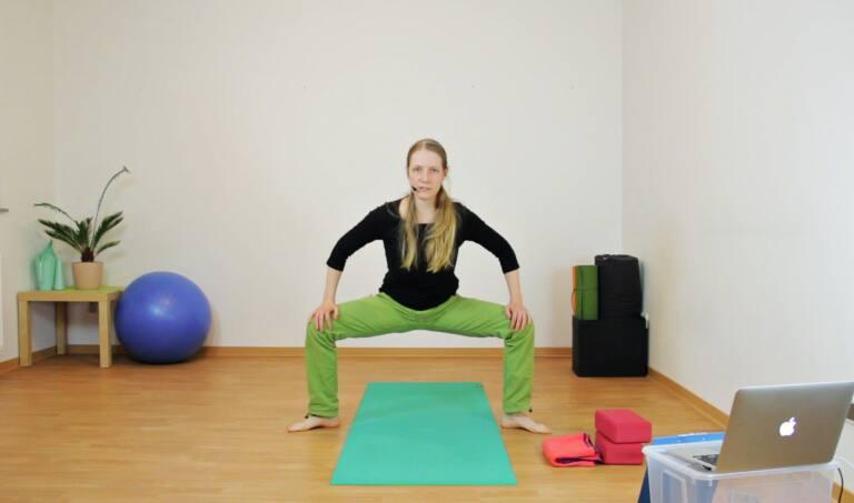 Hüftflexibilität ohne Verbiegen